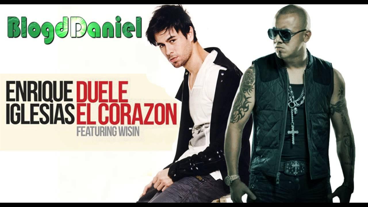 Enrique Iglesias Duele El Corazón Ft Wisin Official