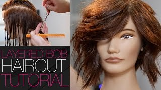 Medium Layered Undercut Haircut Tutorial - MATT BECK VLOG 26