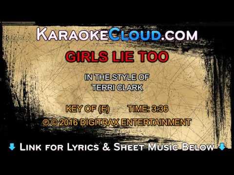 Terri Clark - Girls Lie Too (Backing Track)