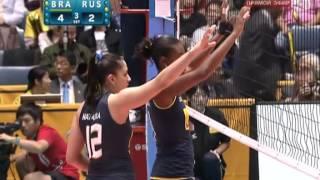 Волейбол. Женщины. Чемпионат мира 2010. Финал.(Россия vs Бразилия., 2012-08-07T21:37:08.000Z)