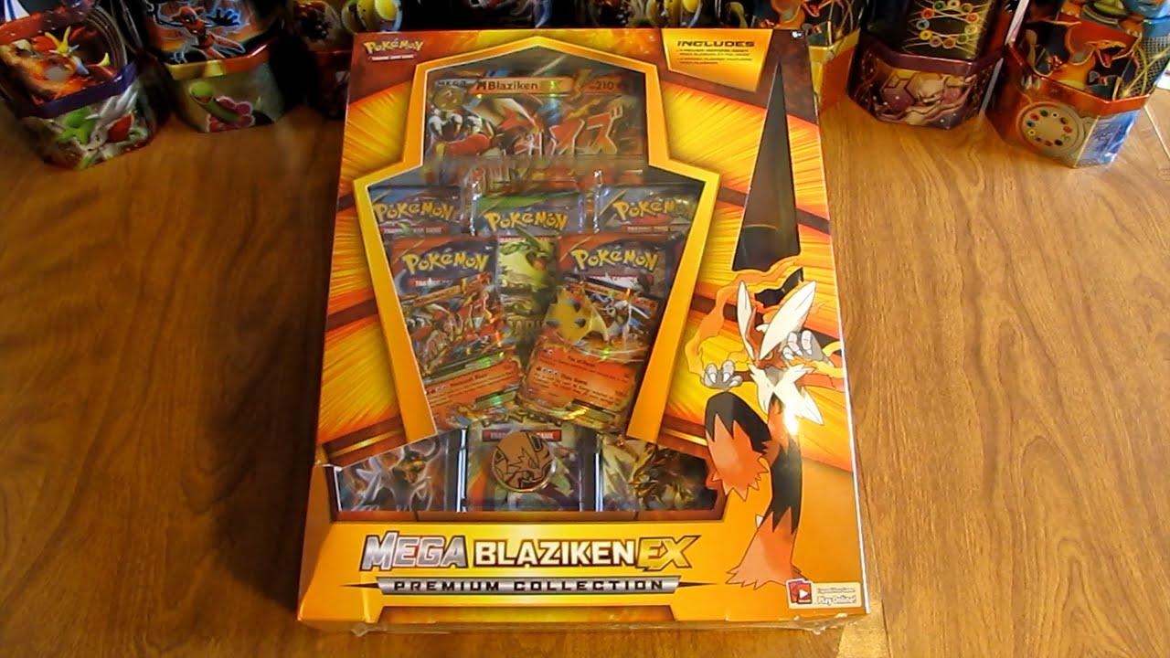 Mega Blaziken Ex Premium Collection Box Opening Youtube