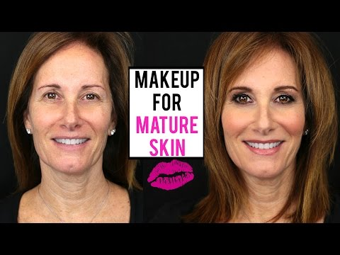 Makeup Tutorial For MATURE SKIN | Makeup On A Client | JamiePaigeBeauty