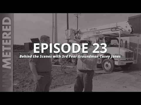 unMetered Episode 23 - Behind the Scenes with 3rd Year Groundman Casey Jones