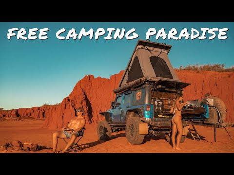 Download THE BEST FREE BEACH CAMPING IN WESTERN AUSTRALIA! 4x4 around Broome & James Price Point | Ep 39 |