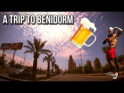 A TRIP TO BENIDORM | TRYING TO STAY LEAN WHILST PARTYING