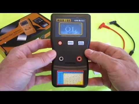 ESR Meter $44 Capacitor Tester MESR-100 V2 electronics repair fix broken power supply led tv replace