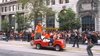San Francisco Giants 2012 World Series Parade Market Street San Francisco California