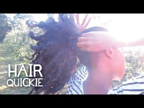 hair-quickie:-ponytail-fix!-no-hair-tools-or-hair-ties