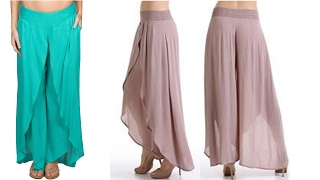 Tulip pants DIY | Tulip pants drafting, cutting and stitching step by step tutorial