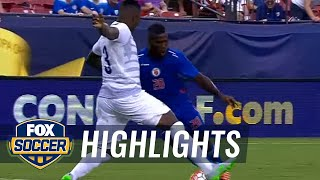 Nazon nets Haiti's late equalizer against Panama - 2015 CONCACAF Gold Cup Highlights