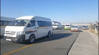 Taxi strike commuter: 'You are threatening my life'