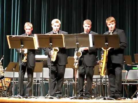 Saxophone Quartet: Carol of the Bells