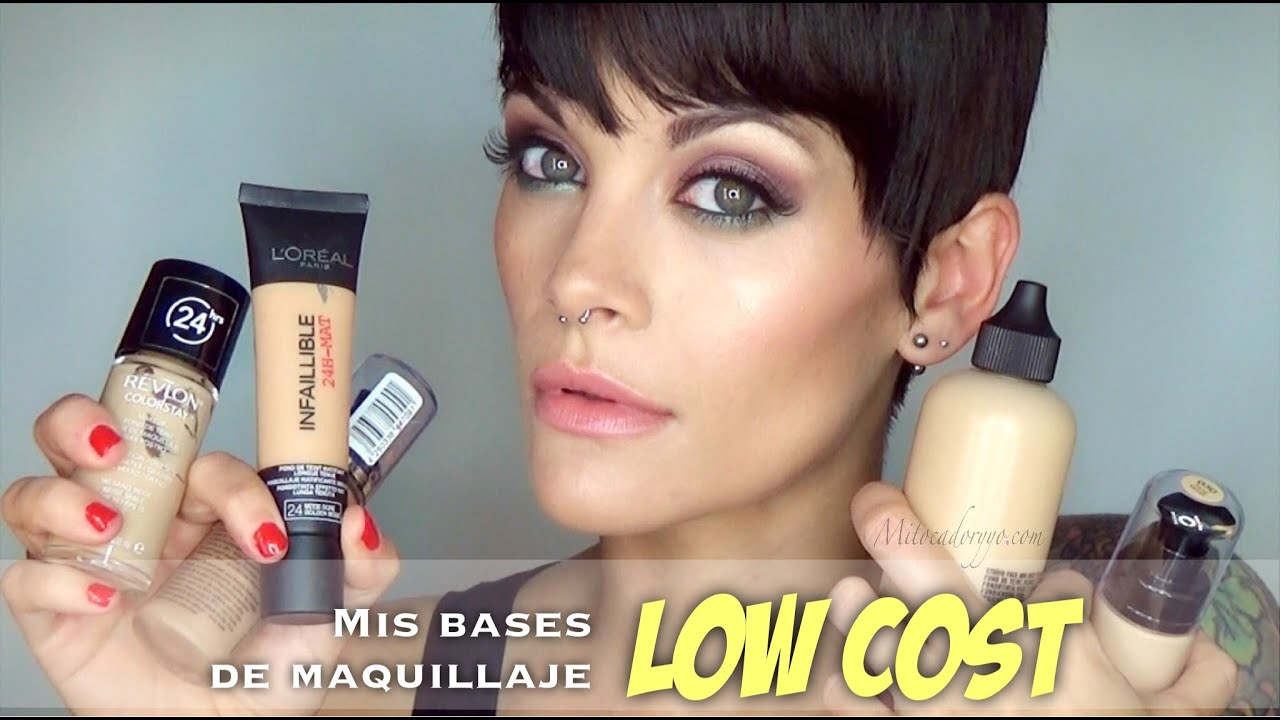 mejor base maquillaje low cost