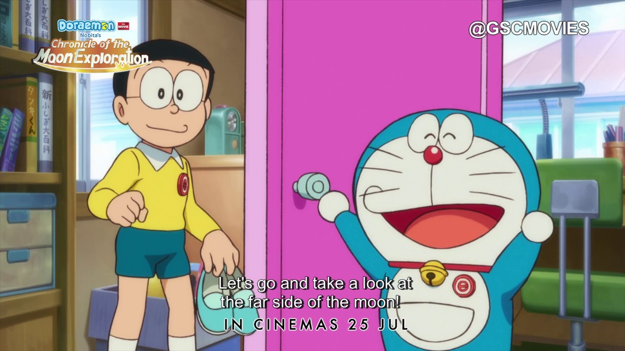 DORAEMON: NOBITA'S CHRONICLE OF THE MOON EXPLORATION (Official Trailer) -  In Cinemas 25 July 2019
