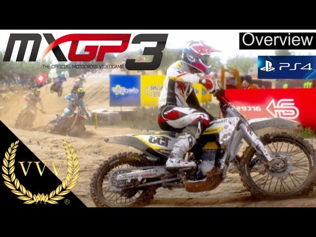 MXGP 3 PS4 Overview