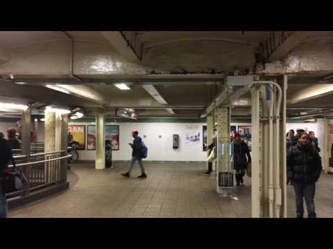 42 Times Square Underground Subway Station View1 Manhattan NYC USA