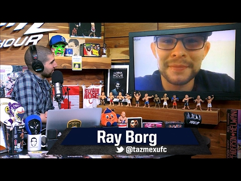Ray Borg Confident He Sells Demetrious Johnson Fight Just As Well As T.J. Dillashaw