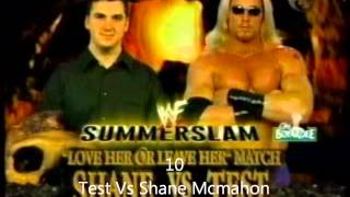 Top 20 Summerslam Matches 97-05