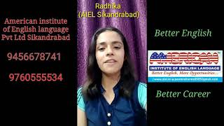 American institute Sikandrabad ,Better English Better Career,