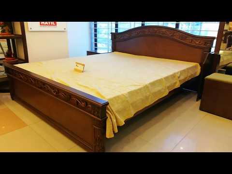 Wooden bed design | জেনে নিন HATIL ফানিচার খাট এর দাম ।hatil furniture bed | হাতিল ফার্নিচার খাট