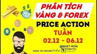 Phân Tích Vàng & Forex Theo Price Action Tuần 02/12-06/12