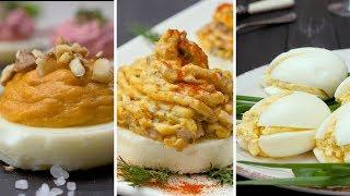 Как приготовить яичные закуски - Рецепты от Со Вкусом