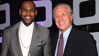 Is Pat Riley PLOTTING To RESIGN LeBron James?!