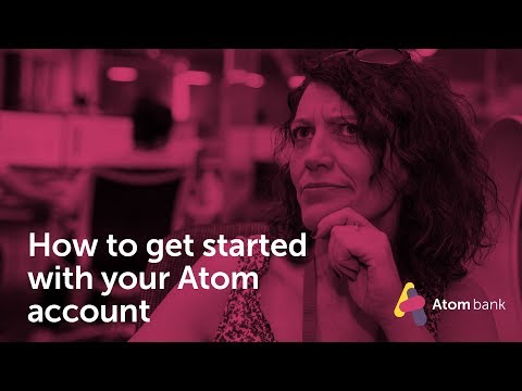 How to get started with your Atom account