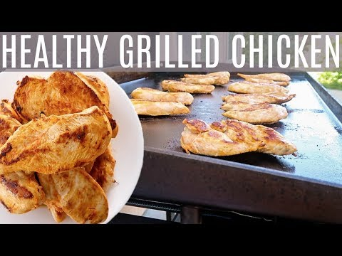 QUICK Grilled BBQ Chicken - Healthy Chicken Recipe - Blackstone Griddle - Backyard Texas Barbecue