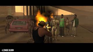 GTA San Andreas Top 5 BEST Zombie Mods 2018