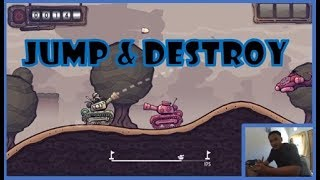NEW BEST PHONE GAMES : JUMP AND DESTROY REVIEW AND PLAY (INDONESIA)