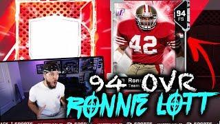 94 OVR RONNIE LOTT!! *INSANE PULL* | MADDEN 19 PACK OPENING