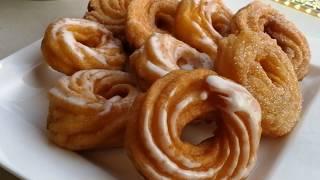Einfache, klassische Spritzringe - Brandteig Spritzringe selber machen - Kuchenfee