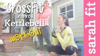 Crossfit Inspired Kettlebell Workout W/ Carrots'n'cake