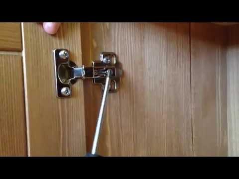 Как настроить двери шкафа