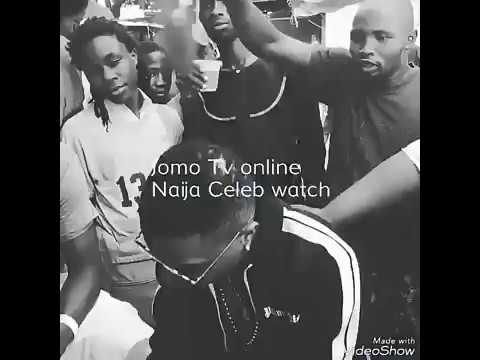 Wizkid hangs out with cut boys in surulere watch and see what happened