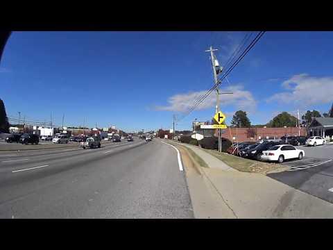 Jonesboro, GA | Zipping Along Tara Blvd | 720p@240fps | Raw Video