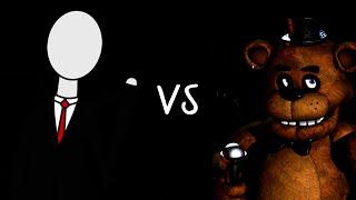 Slender vs Freddy