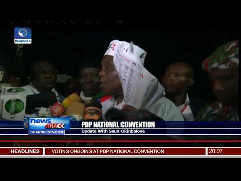 PDP National Convention Update With Seun Okinbaloye