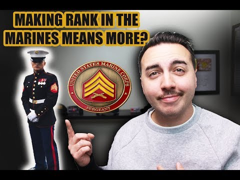 WHY MAKING RANK IN THE U.S. MARINES MEANS MORE?
