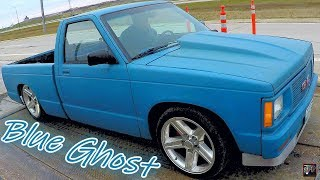 Turbo 5.3 LS S10 Weigh In + Build Summary   L33 / 4L80E Bagged Chevrolet MiniTruck w/55 Chevy Dash