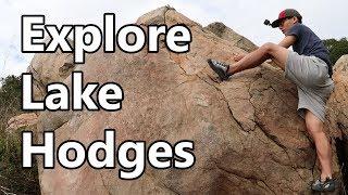 Explore Hidden Local Outdoor Climbing Gems - Lake Hodges in San Diego