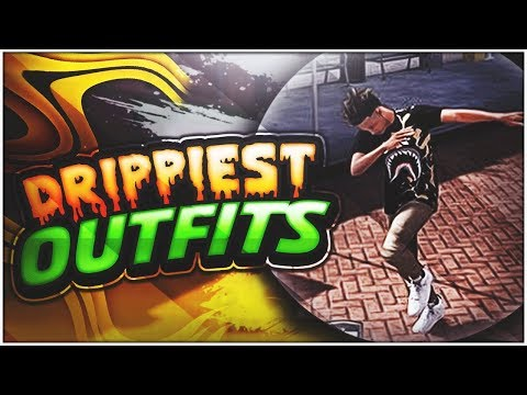 DRIPPIEST OUTFITS TO WEAR AT THE PLAYGROUND 🔥 ! DESIGNER UP   NBA 2K18   2WAV🈂 BEST OUTFITS VOL. 1
