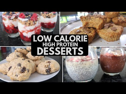 EASY Low Calorie Desserts & Treats | FAT LOSS MEALS