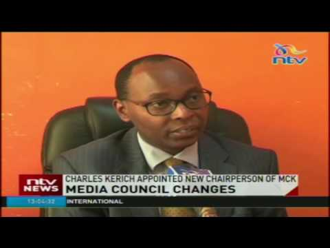 Charles Kerich Appointed Chairperson of Media Council of Kenya