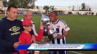 Oriental Campeón Apertura 2015 Paso de los Toros