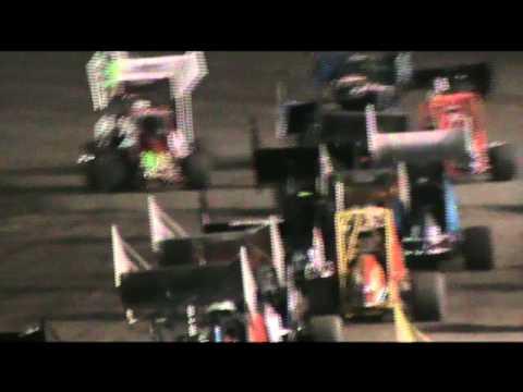 Josh Baughman at Cowtown Speedway