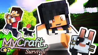 CUTEST PETS EVER! | MyCraft Minecraft Survival | Part 2