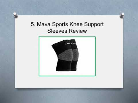 Top 10 Best Knee Compression Sleeves Reviews in 2019