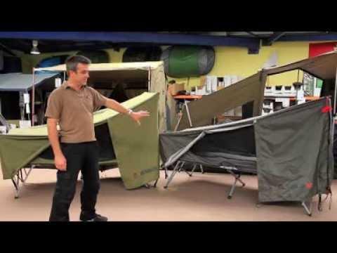 sc 1 st  YouTube & Jet Tent Bunker Vs Jet Tent Bunker XL by Oztent - YouTube